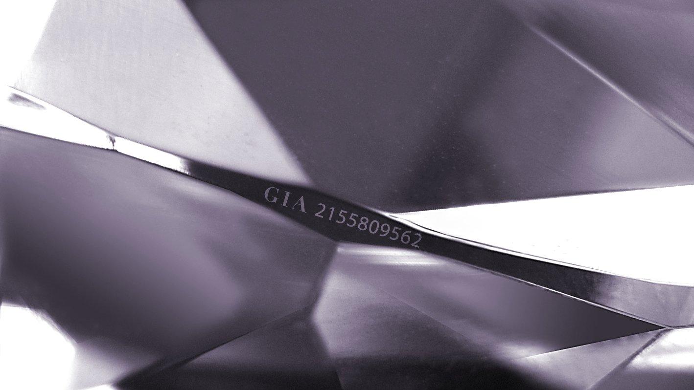 inele de logodna cu diamante gravate cu laser